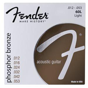 FENDER - PHOSPHOR BRONZE ACOUSTIC GUITAR STRINGS