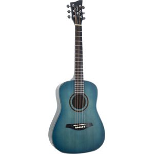 JAY TURSER - JTA52 - 1 / 2 SIZE DREADNOUGHT - SATIN FINISH - BLUE