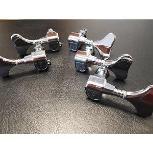 SCHALLER - SCH660 - Bass-Machine Head - M5 hand polished 3 / 2 - Chrome