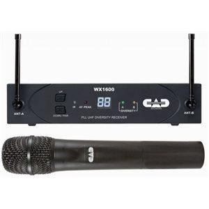 CAD - WX1600 - UHF Wireless Cardioid Dynamic Handheld