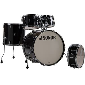 SONOR - AQ2 Studio 5-Piece Shell Pack - Transparent Stain Black