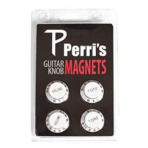 PERRI'S - boutons magnétiques pour frigo - blanc
