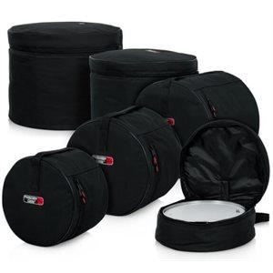 GATOR - 5-Piece Standard Set Bags - PROTECHTOR STANDARD SERIES