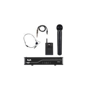 CAD - UHF Wireless Dual Combo System - Handheld / Bodypack