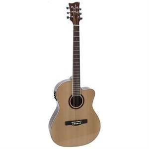 JAY TURSER - JTA524D - CUT AWAY / ELEC - NATURAL