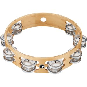 LP - DOUBLE ROW TAMBOURINE - 10""