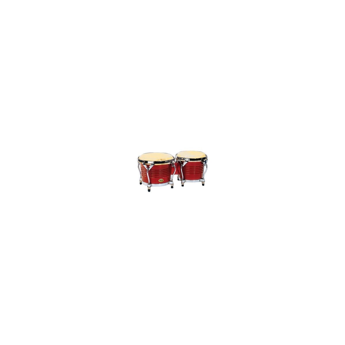 MANO - MP1778-RW - 7 / 8 inch Bongo Set - Red Wood