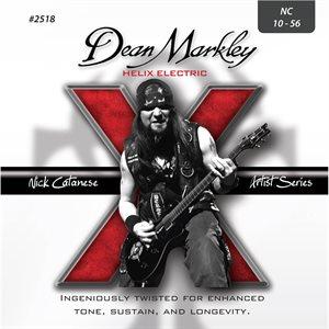 DEAN MARKLEY - DM2518 - Nick Catanese Signature Helix - 10-56