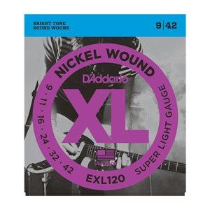 D'ADDARIO - EXL120