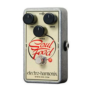 EHX - SOULFOOD - TRANSPARENT DISTORTION / FUZZ / OVERDRIVE