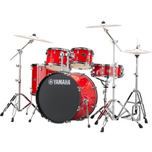 YAMAHA - Rydeen - 5-Piece Drum Kit - Hot Red