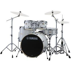 YAMAHA - Stage Custom Birch 5-Piece Drum Kit w / Hardware - Pure White