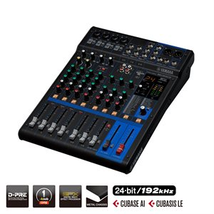 YAMAHA - MG10XUF - 10-Channel Mixing Console with effects and fader