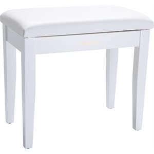 ROLAND - RPB-100WH - Piano Bench with Storage Compartment - White