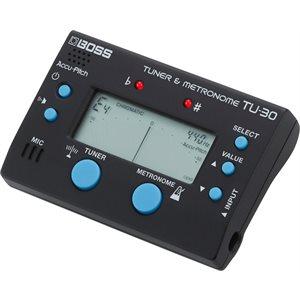 BOSS - TU-30 - Tuner & Metronome