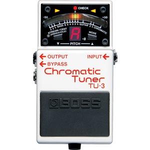 BOSS - TU-3 - Chromatic PEDAL Tuner