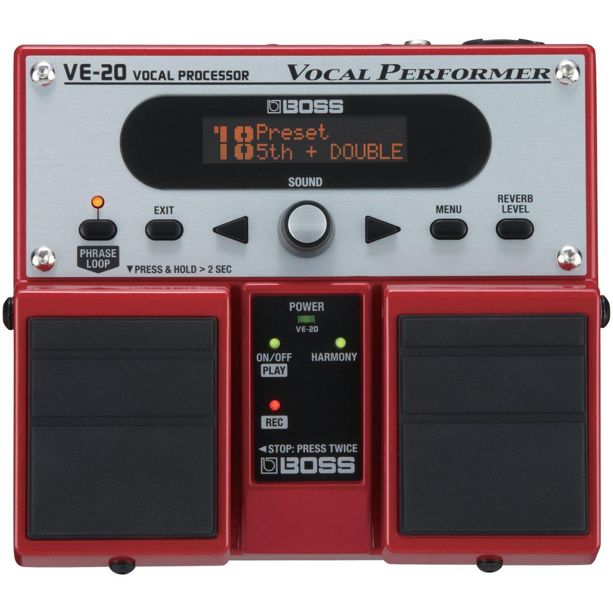 BOSS - VE-20 - Vocal Effects Processor